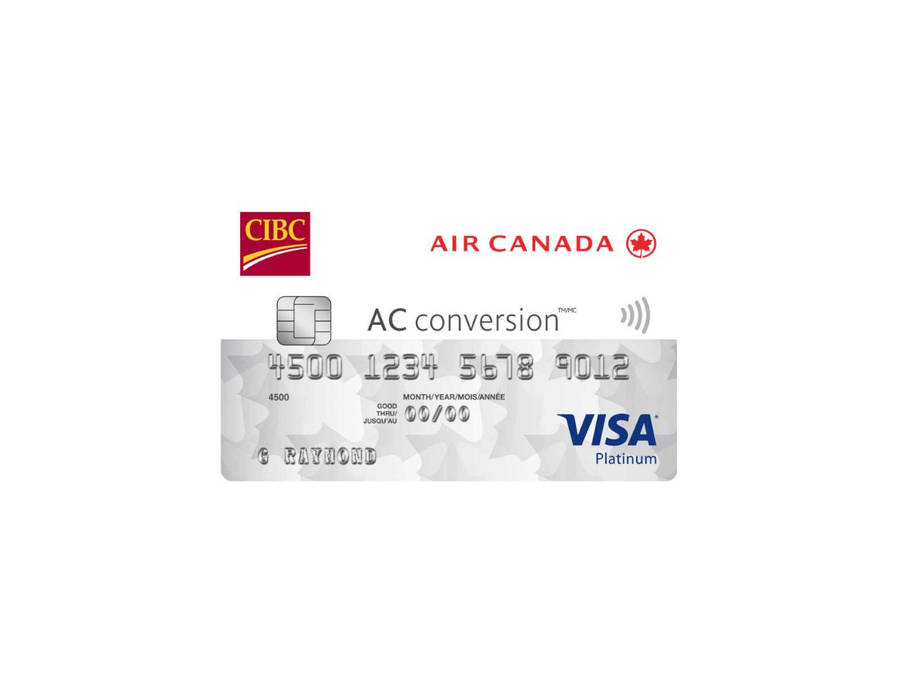 CIBC Air Canada AC Conversion Visa Prepaid Card Review