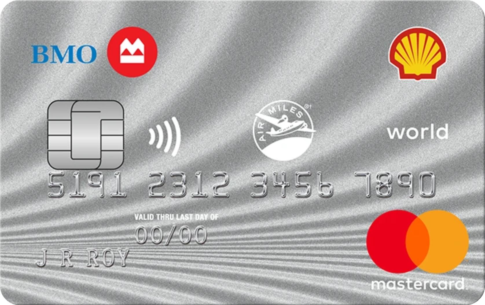 Shell AIR MILES® World MasterCard® from BMO logo