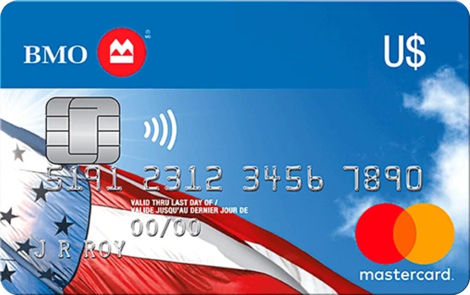 BMO® U.S. Dollar MasterCard® logo
