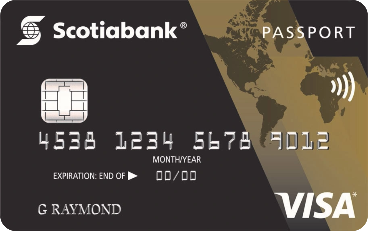ScotiaGold Passport® Visa card logo