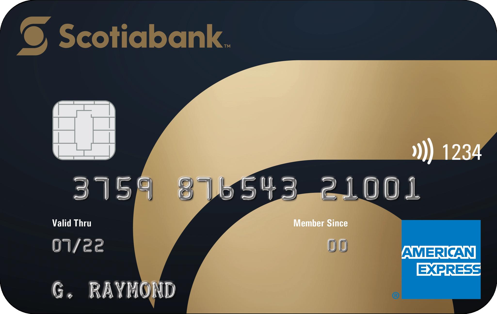Scotiabank® Gold American Express® card logo