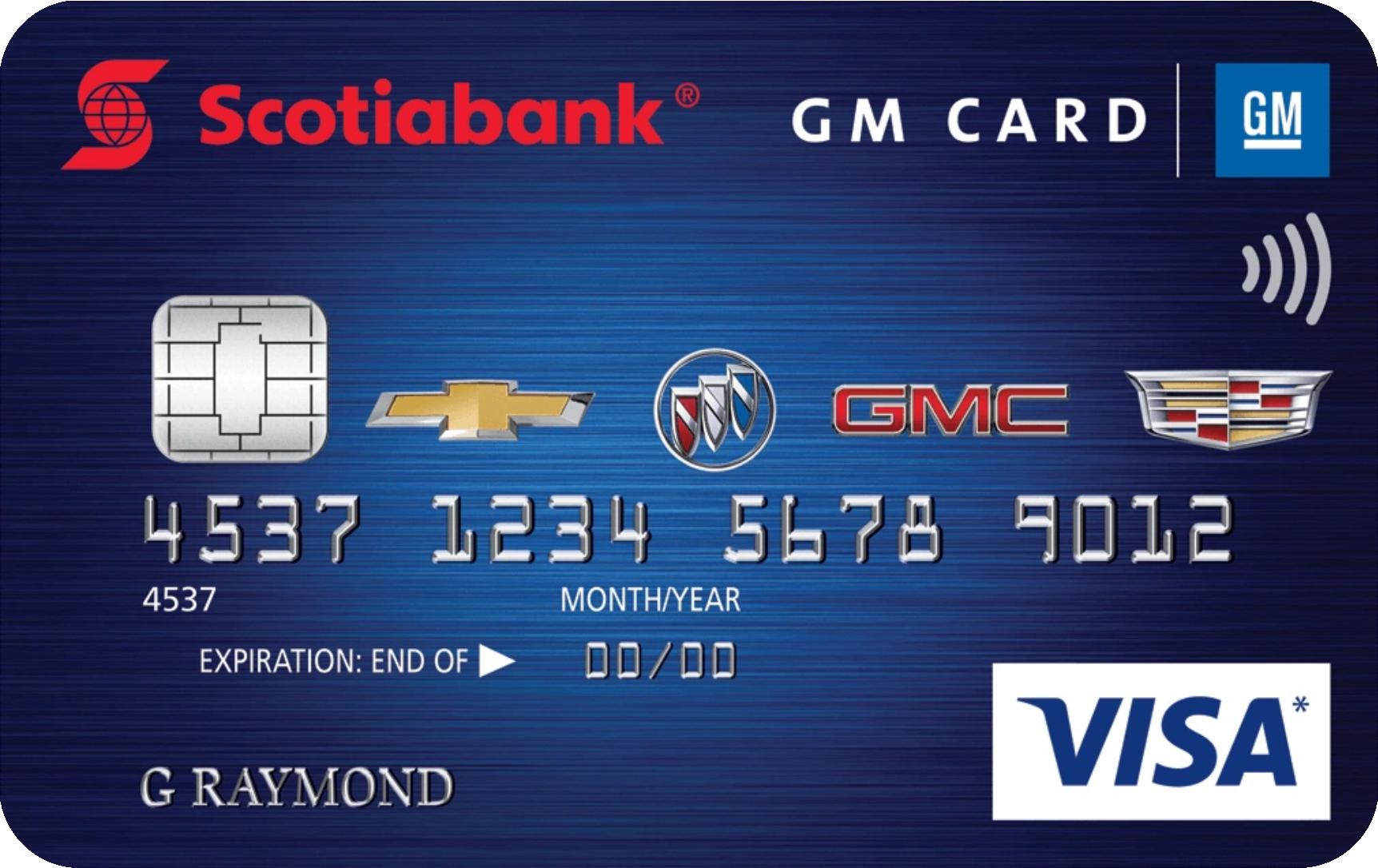 Scotiabank® GM® Visa card logo