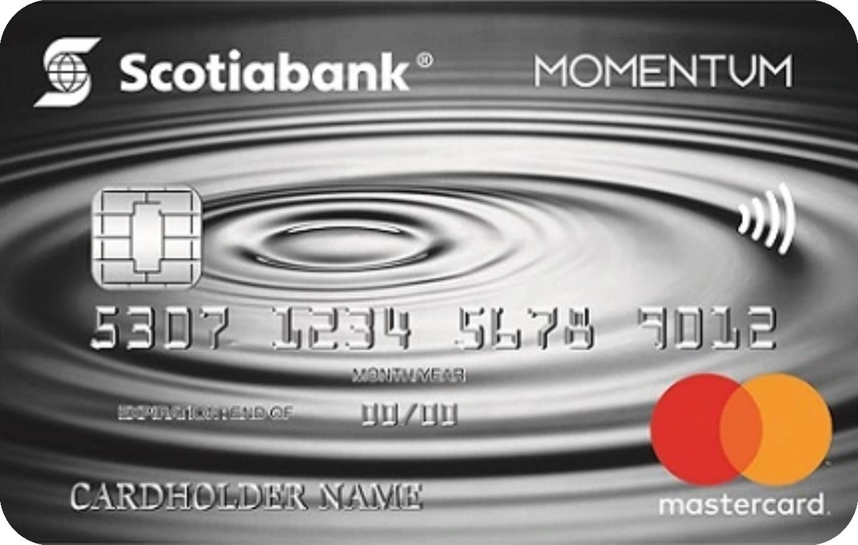 Scotia Momentum® MasterCard® logo