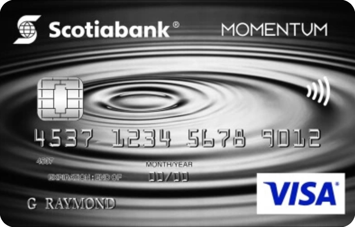 Scotia Momentum® No-Fee Visa® Card