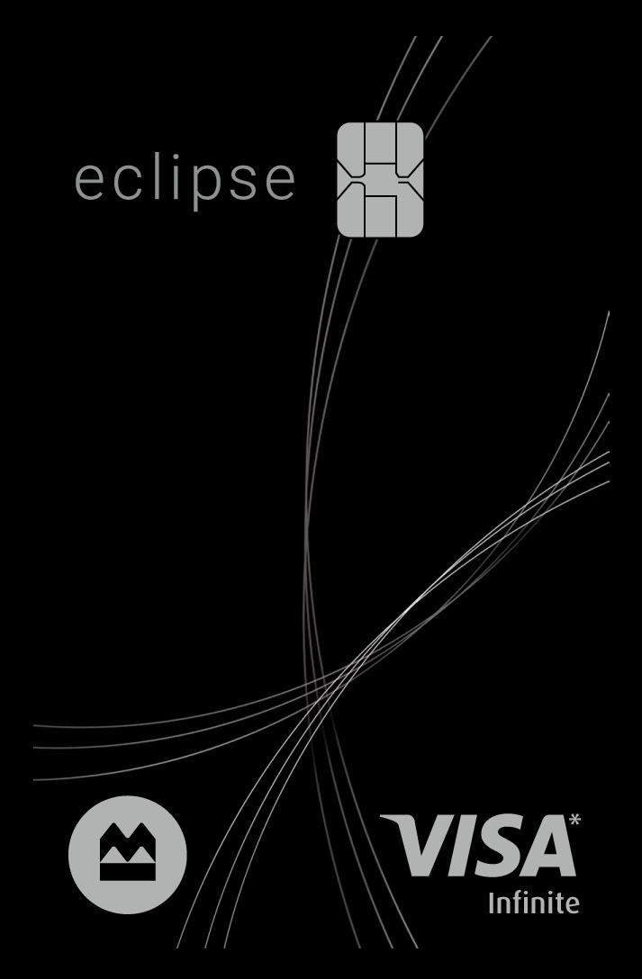BMO eclipse Visa Infinite* Card logo